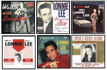 Lonnie Lee album coasters