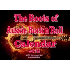 Roots of Aussie Rock Calendar 2018