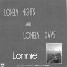 Lonnie Lee - Single - Lonely Nights - It takes me back - ST822