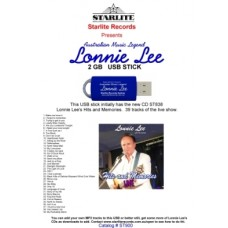 ST838-USB - USB Stick - ST838 Lonnie Lee - Hits and Memories LIVE.