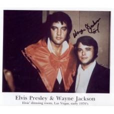 Wayne Jackson - Color Photo with Elvis